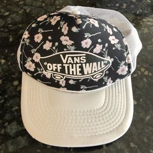 Vans off the Wall SnapBack Hat Floral GUC